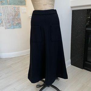 Oska wool skirt black 1 pockets
